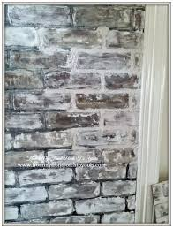 How To Paint A Faux Brick Wall - from my front porch to yours diy faux brick wall tutorial using