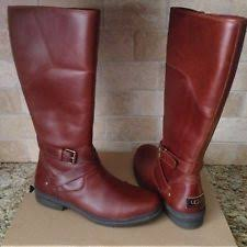 s ugg australia brown emalie boots ugg womens emalie boots 1008017 stout size 11 ebay