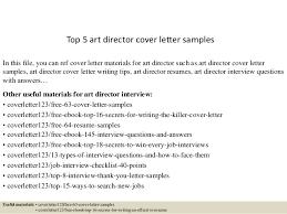 Art Director Resume Samples by Top 5 Art Director Cover Letter Samples 1 638 Jpg Cb U003d1434595071