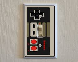 custom light switch covers nintendo controller switch plate wall cover video elegant light