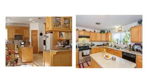 colors for kitchen walls with maple cabinets impressive wall color with honey maple cabinets to light your room