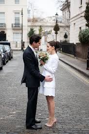 white dress for courthouse wedding an intimate elopement for a valentino 60s style