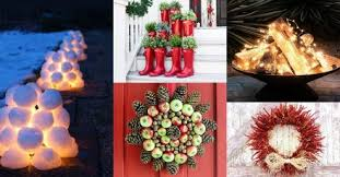 Unique Christmas Decorations For Outside by 43 Mason Jar Crafts Diy Decorating Ideas For Outdoors
