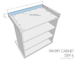 kitchen pantry cabinet buildsomething com