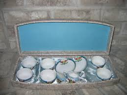 vintage kids porcelain china tea cup party play set item 47 for