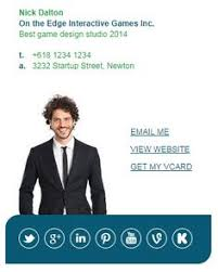 market me series 2 email signature template by email signature