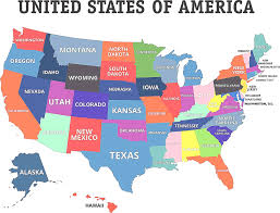 list of us states map of usa massachusetts list of u s states and territories by