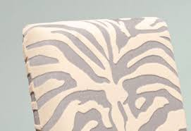 Zebra Dining Chair Covers Stretch Zebra Dining Chair Slipcover