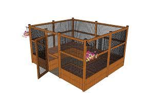 enclosed raised veggie garden w plans permanent veggy