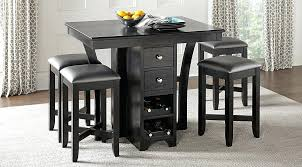 small bar height table and chairs narrow counter height table small counter height dining table and