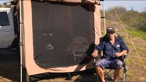 Awning Tent Shauno U0027s Fraser Camp Setup Kings Awning Tent Youtube