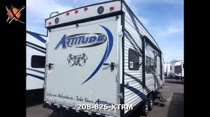 2016 eclipse attitude metal 23sa travel trailer toy hauler in