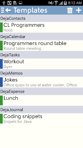 dejaoffice for android dejaoffice classroom android templates