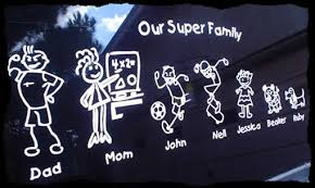 family decals family stickers design your unique stick family