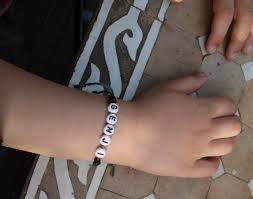 name bracelet make images Diy name bracelet jpg