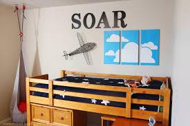vintage airplane wall art kids bedroom ideas newhomesandrewscom