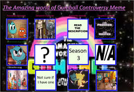 Amazing World Of Gumball Meme - the amazing world of gumball my controversy meme by