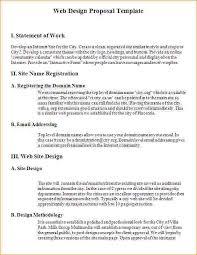 sample design proposal sample website design proposal template