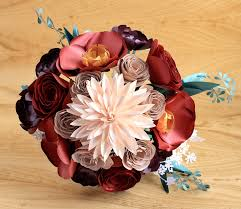 paper flower bouquet paper flower bouquet large dahlia poppy ranunculus succulent