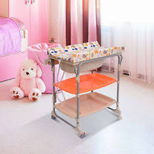 Change Table With Bath Baby Changing Tables Units With Bath Ebay