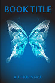 blue butterfly the book cover designer