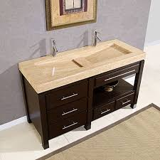 Bathroom Vanity Bowl by Kitchen 60 Inch Double Sink Vanity Bathroom Vanities And Sinks