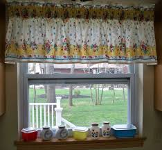kitchen tan floral valances for kitchen for fancy kitchen decor idea