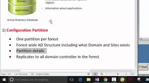 active directory partition in depth part 1 youtube