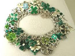 leaf charm bracelet images 404 best vintage charms shamrocks clovers images jpg