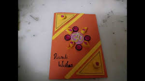 diwali card making idea for kids diy cardmaking youtube