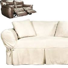 loveseat reclining loveseat slipcover low back ribbed texture