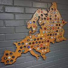 Europe Map Games by Europe Beer Cap Map U2013 Beer Cap Maps