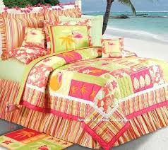 Beach Comforter Sets Beach Themed Duvet Cover Sets Quilt Set King Coastal Tropical