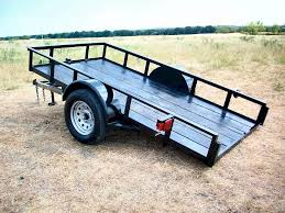 Utility Bed Trailer Texas Trailer Supply Single Axle Utility Trailers For Sale In