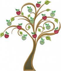 apple tree embroidery design annthegran