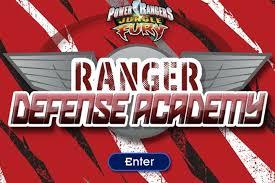 power rangers jungle fury ranger defense academy game power