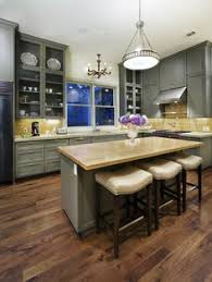 Kitchen Cabinets Dark Wood Love The Dark Wood Floors White Cabinets And Light Granite
