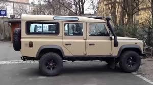 vintage land rover defender 110 land rover defender big tires desert u0026 mud terrain youtube