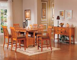 Dining Room Furniture Pittsburgh by Oak Park Counter Height Table Oak Levin Furniture