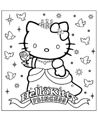 kitty colouring books 20 print color free
