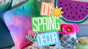 easy diy spring room decor ideas 2017 youtube