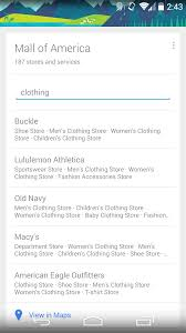 Macy S Children S Clothes Indoor Maps U0026 Mall Directories Come To Google Now For Android