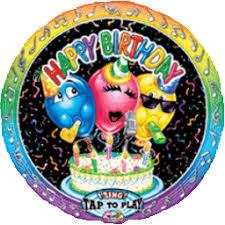singing birthday balloons birthday singing balloon 28 by anagram balloons123