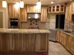 Hickory Kitchen Cabinets Best Unfinished Cabinets With Hickory Kitchen Cabinets How To