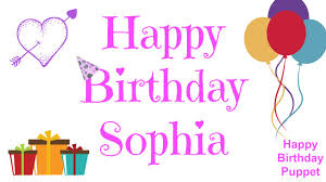 sofia the birthday list of synonyms and antonyms of the word happy birthday