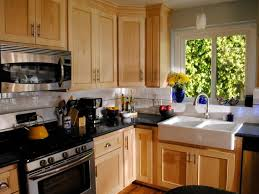 Kitchen Cabinet Refacing Pictures Options Tips  Ideas HGTV - Kitchen cabinets refinished