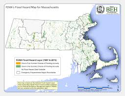 Massachusetts State Map by Statewide Flood Zone Map For Massachusetts