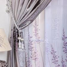 Grey And Purple Curtains Color Lavender Modern Blackout Contemporary Curtains Designs