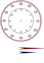 teaching children to tell time printable clock
