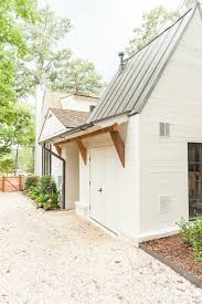 shed roof house dreamy white farmhouse exterior exteriors and landscaping